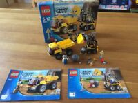 LEGO City 4201 Loader and Tipper - Like new condition