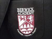 Berwick Academy School Blazer chest 34 age 14, 15 years good condition
