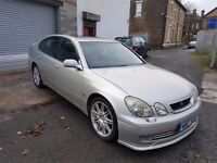 Lexus GS 300 3.0 Sport 4dr 11 MONTHS MOT full leather interior