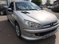 PEUGEOT 206 1.4 DIESEL 2008 *RARE SPEC* / 1 PREVIOUS OWNER / SERVICE HISTORY / 1 YEAR MOT / £1250