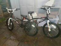 Vibe bmx bikes x2 vgc ready to ride
