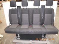 2016 Ford Transit rear seats crew cab , unused