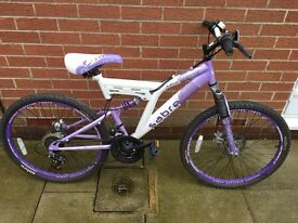 Full size Girls Sabre Mountain bike