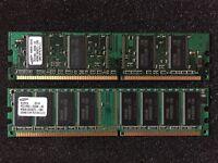 Samsung 256 MB / 128 MB DDR RAM PC2100 266 MHz CL2.5 Bayern - Wartenberg Vorschau