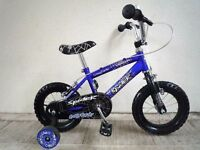 "(2193) 12"" CONCEPT Boys Girls Kids Childs Bike Bicycle + STABILISERS Age: 2-4 Height: 80-100 cm"