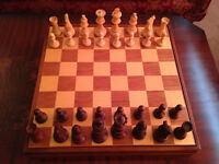 Chess & Draughts set (Vintage)