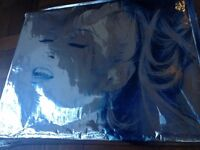 Madonna rare, Limited edition collectors book complete with aluminium cover and CD