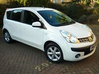 NISSAN NOTE 1.4 SE,,,JUST 1 LADY OWNER FROM NEW,,,DONE 9000 MILES YES 9000 MILES,,,AS NEW CONDITION
