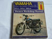 Yamaha 250 & 350 Twins 1970 on. Haynes Owners Workshop Manual.
