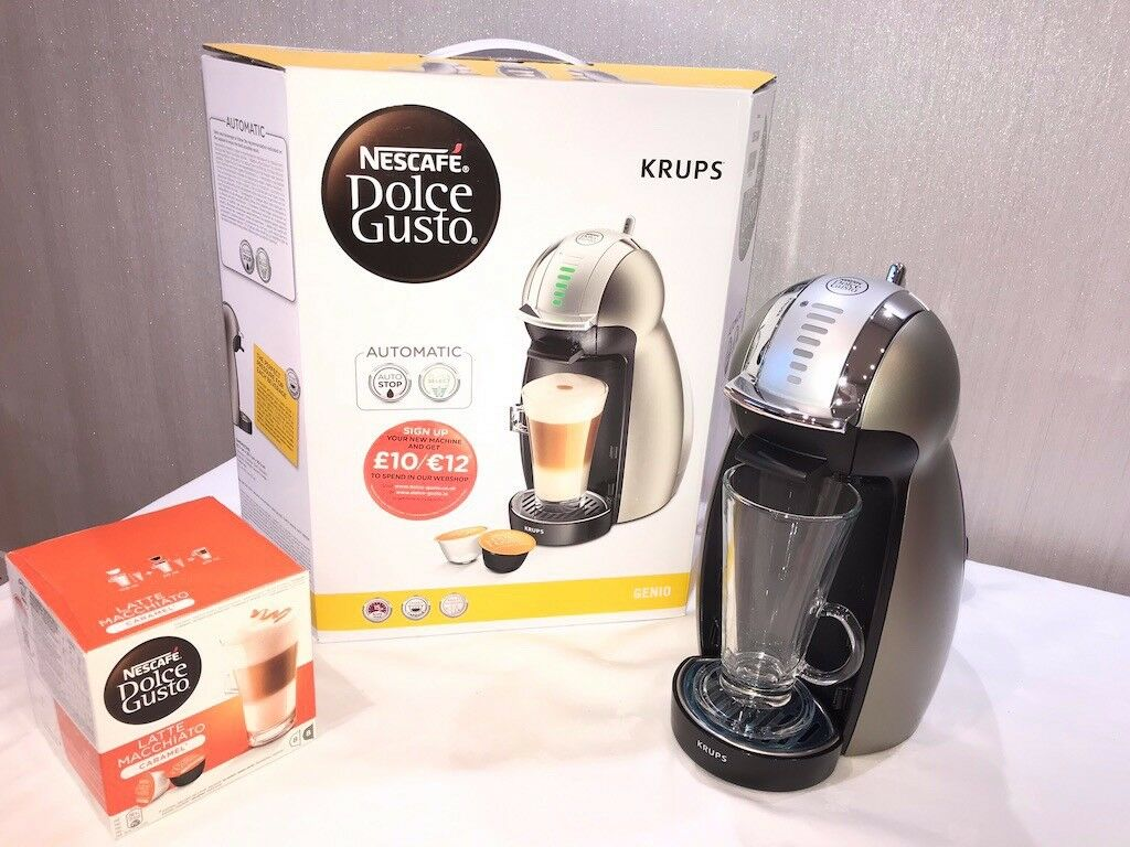 8056c7fc7 REDUCED*** Nescafe Dolce Gusto Genio 2 by KRUPS Pod Coffee Maker