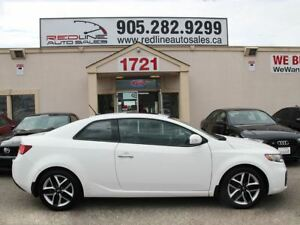 2010 Kia Forte Koup Leather, Sunroof, Alloys, WE APPROVE ALL CRE