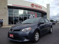 2014 Toyota Corolla LE ECO GREAT ON GAS, 1 OWNER, B.CAM, BLUETOO