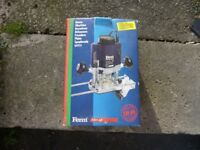Ferm FBF-8F router never been out of the box so as new box a bit tatty