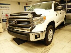 2014 TOYOTA TUNDRA 4X4 DOUBLE CAB TUNDRA SR5 BLANC IMPÉCCABLE