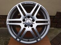 "OEM Mercedes AMG 18""x8J Alloy Wheel W207 09-16 E-Class Coupe/Cab"