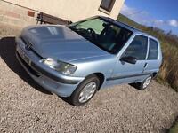 Peugeot 106 low milage