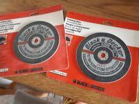 Two Masonry Cutting Discs for Circular saws