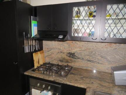 Granite kitchen and cupboards complete