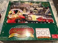 Holiday express Christmas train set