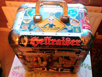 Record Box - Signed by Neophyte!!! - Lockable - Heavy Duty Metal