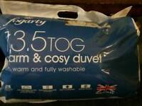 Fogarty duvet 13.5 tog warm and cosy kingsize