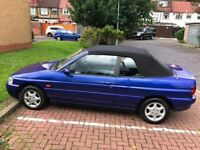 1997 Ford Escort 1.8 i Ghia Cabriolet 2dr Manual 1.8L @07445775115