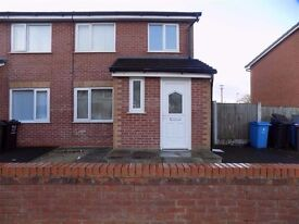 To let 3 semi detached Bedroom House £475 PCM Deposit required Housing benefit considered
