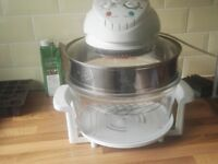 Large capacity family halogen oven