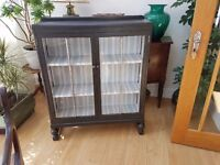 Hand refurbished Vintage Book shelve/ display cabinet