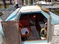 24' Snapdragon Sailing Boat