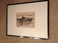 Lithograph 'Old Buckhaven'