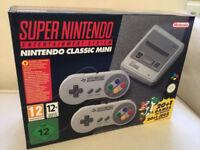 Super Nintendo SNES Mini Classic New & Unopened with Receipt