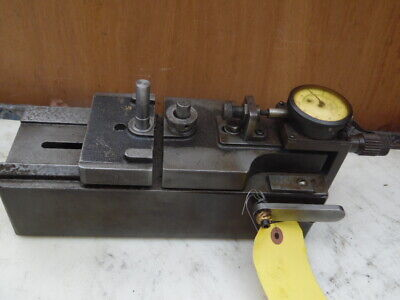 Vintage Federal Gear Tester Checker Industrial Machinist Tool W Gauge .0001 Usa