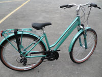Raleigh Pioneer Trail Ladies Brand New Step Through Hybrid Leisure Town Bike Located Bridgend Area