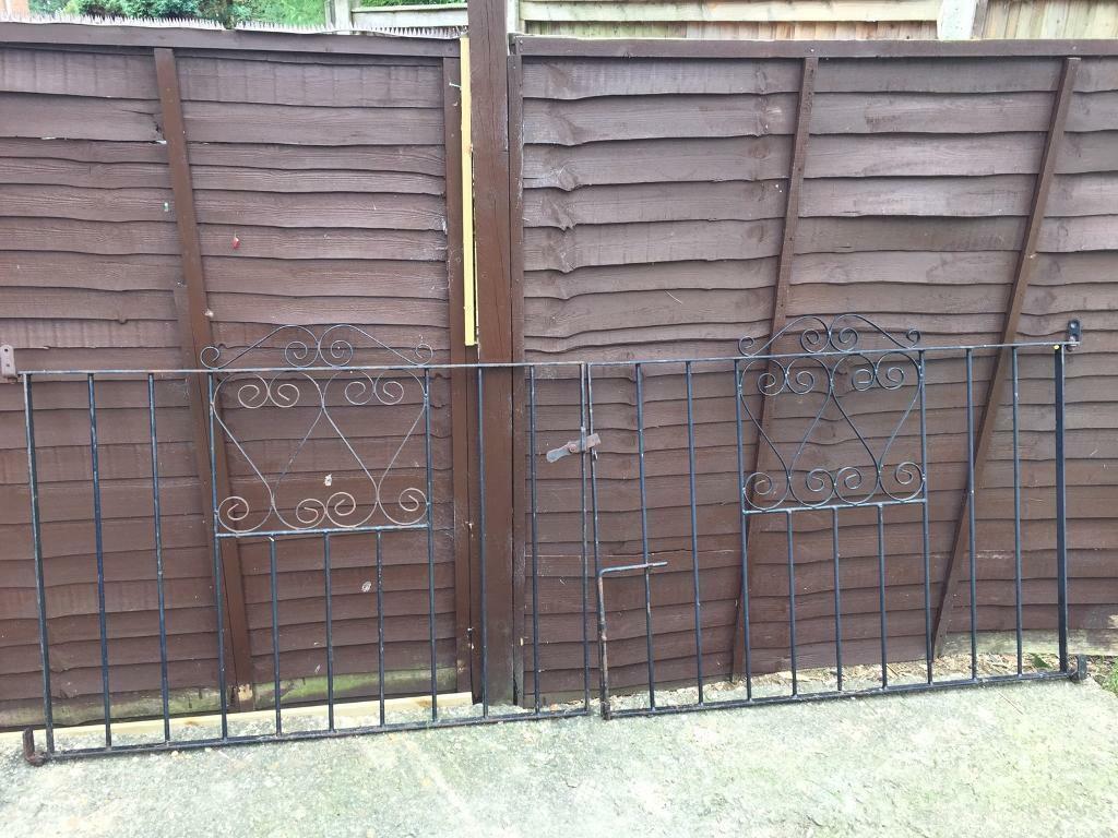 4ft Wrought Iron Double Gates In Buckingham Buckinghamshire Gumtree