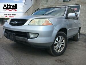 2003 Acura MDX TOURING PKG MEMORY SEAT, LEATHER, SUNROOF, ALLOY,