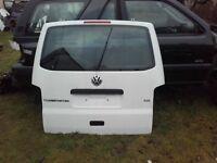 vw t5 t5.1 transporter caravelle multivan genuine complete tailgate white LB9A MINT CONDITION camper