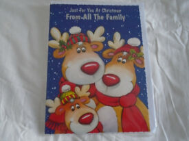Car Boot Sales/Xmas Fayres.200 Mixed Large Quality  Family Christmas Cards...For Less Than £50