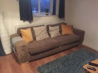 Large and comfy sofa