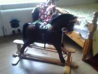 Glider rocking horse