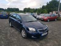 Toyota Avensis 1.8L 5DR 2006 Automatic 1 owner from new full service history excellent condition