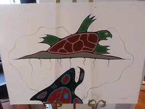 Jay Redbrid - Listed First Nations Canadian Artist Paintings
