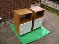 2 BEDSIDE CABINET / TABLE FREE LOCAL DELIVERY