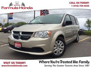 2015 Dodge Grand Caravan CANADA VALUE PACKAGE | LOW KM | MINT CO