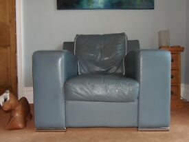 Leather Armchair from DFS