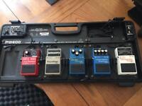 Guitar pedal setup