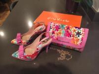 Gino Vaello Shoes and Hand bag
