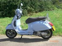 Beautiful Blue as New condition Scooter GTS300