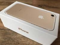 IPhone 7 Gold 128 GB - Box