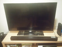 LED TV + Soundbar + Sky box + TV cabinet - Clearance Sale